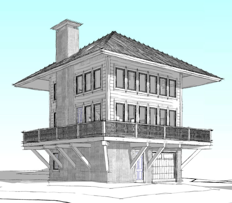 Fire tower house plans escortsea for Tower house plans
